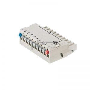 BL-I/O 3.50/10F PNP LED SN LTGY BX